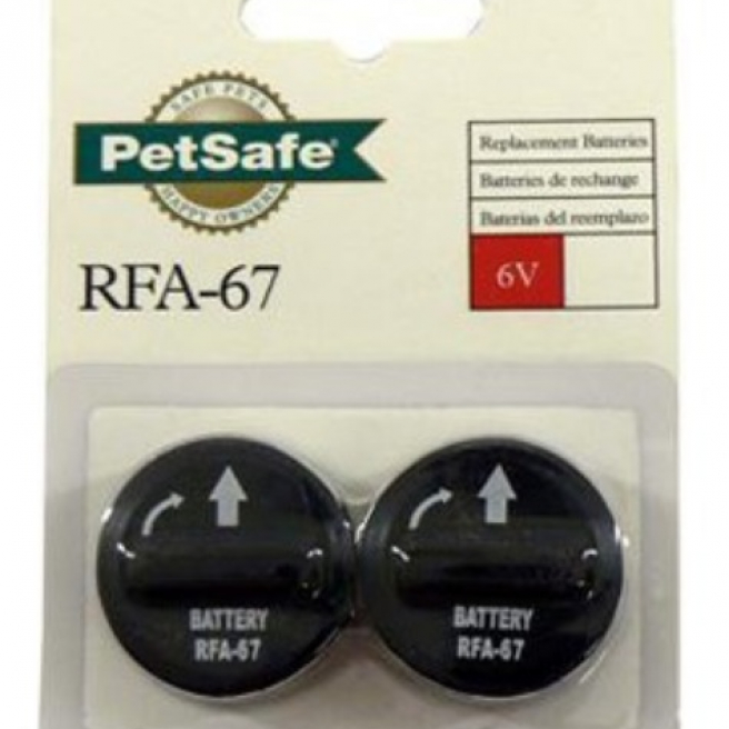 Petsafe Replacement Batteries Twin Pack RFA-67