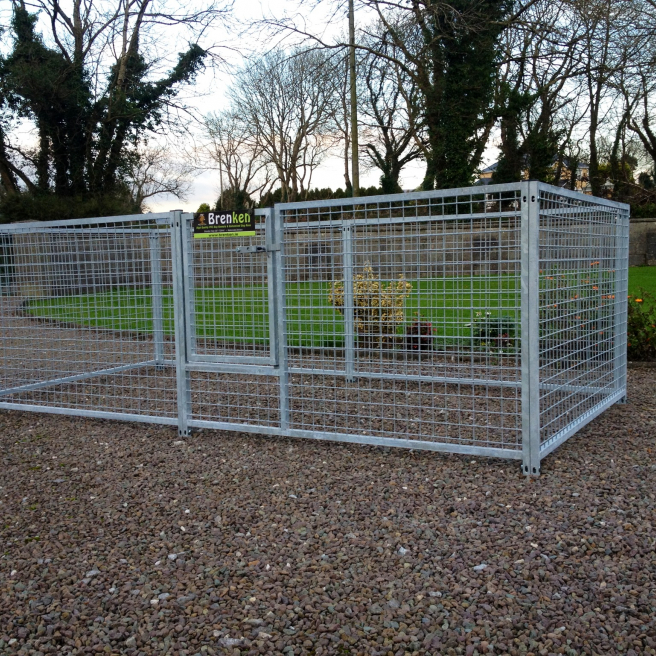 Small Dog Run Puppy Containment Mesh